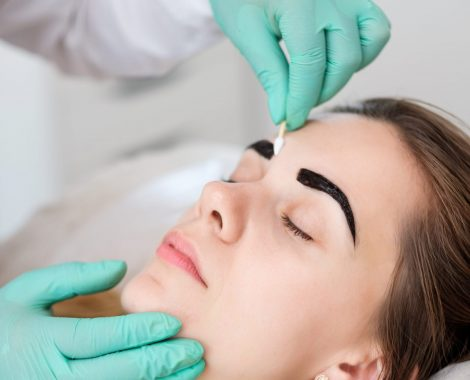 Removing the henna brow tint
